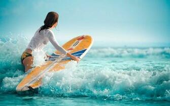 Surfer Girl HD Wallpaper   New HD Wallpapers