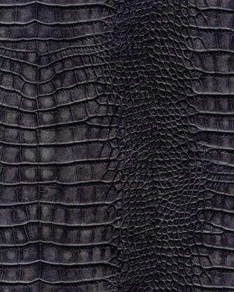 Galerie Natural Faux Feature Wallpaper Alligator Skin Dark Grey SD102