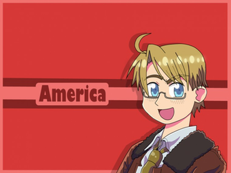 Hetalia Wallpaper America by MochaTheDog