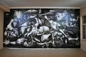 picasso guernica from my sytle by great master