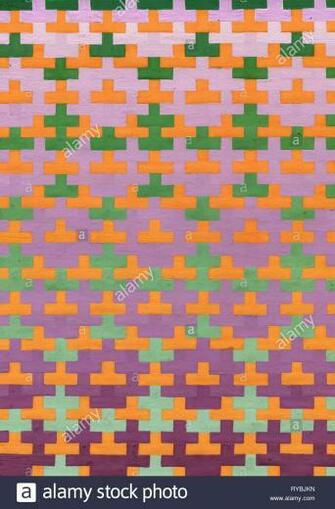 Tetris elements Brick pieces Game background illustration Stock