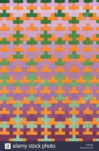 Tetris elements Brick pieces Game background illustration Stock