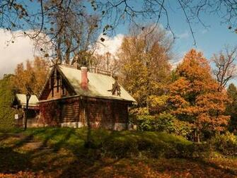 1920x1080 pixel Desktop Wallpapers Beautiful Autumn Cabin Wallpaper