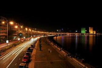 Night View Marine Drive Mumbai Wallpaper 28328   Baltana