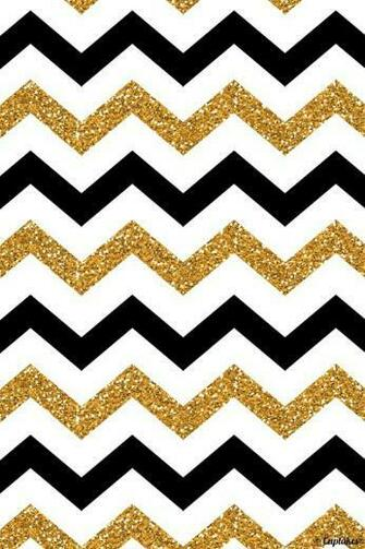 Gold and black stripes iphone wallpaper Iphone Wallpapers Chevron