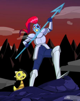 Undyne Undertale by AskPrincesMultifruit