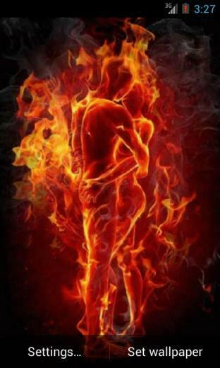 Download Passion on Fire Live Wallpaper apps for Android phone