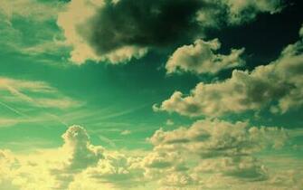 Sunny Clouds desktop wallpaper