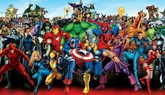 Marvel Superheroes wallpaper   ForWallpapercom