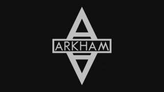 Arkham Asylum Symbol Wallpaper by MorganRLewis