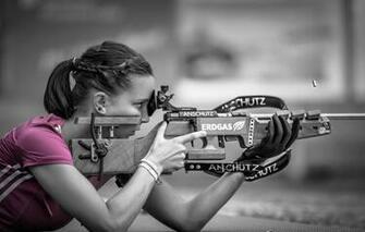Wallpaper sport girl nice ANSCHUTZ Biathlon images for desktop