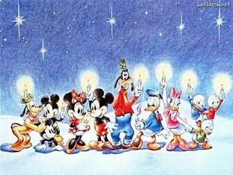 Walt Disney Wallpapers   Merry Christmas   Walt Disney Characters