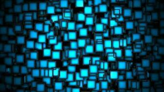 Abstract wallpaper   millions of small blue windows