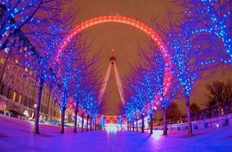 christmas london eye hd wallpapers by hd wallpapers which blog
