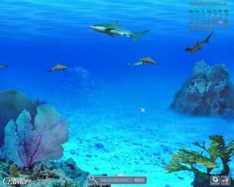 Crawler 3D Marine Aquarium Screensaver is also compatible with