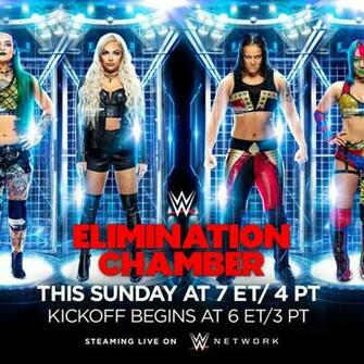 WWE Elimination Chamber 2020 predictions   Cageside Seats