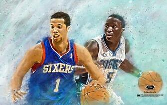Michael Carter Williams and Oladipo Wallpaper by tmaclabi
