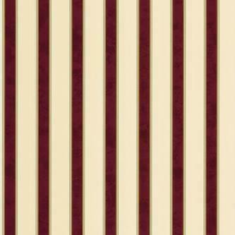 Waverly Waverly 578804 Bold Stripe Wallpaper Burgundy and Beige