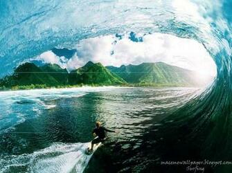 Surfing Wallpaper Maceme Wallpaper