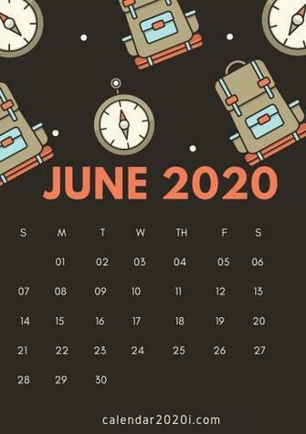 June 2020 Calendar Wallpapers   Top June 2020 Calendar