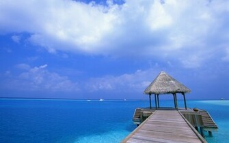 Blue Sky Beach Wallpapers HD Wallpapers