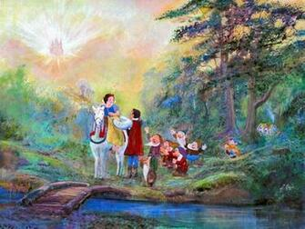 Thomas Kinkade Disney Wallpapers