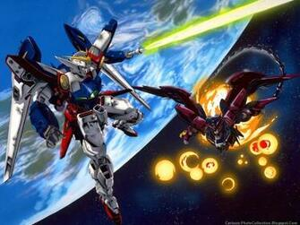 Gundam Wing Cartoon Photos And Wallpapers