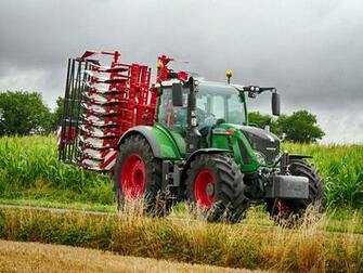 Wallpaper Agricultural machinery Tractor 2011 18 Fendt 724 Vario