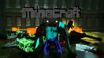 Awesome Minecraft Desktop Backgrounds Images Pictures   Becuo