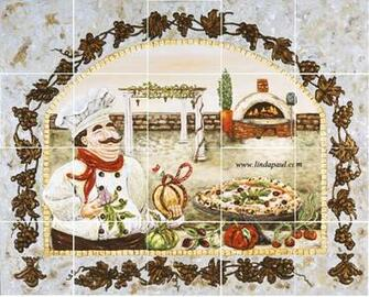 Go Back Gallery For Pizza Tile Wallpaper