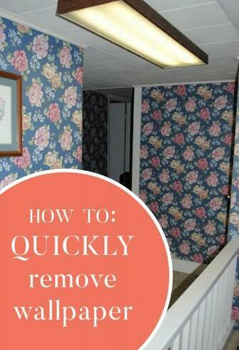 How to quickly remove wallpaper