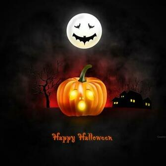 Halloween wallpaper for desktop iPad iPhone PSD icons included