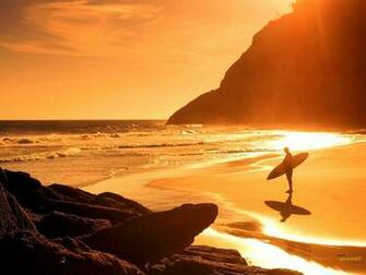 Download Beach Sunset Surf hd Wallpaper in high resolution for
