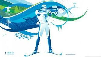 Biathlon 4K HD Desktop Wallpaper for 4K Ultra HD TV Wide
