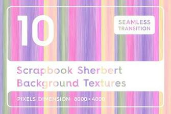 10 Scrapbook Sherbert Background Textures   Graphics   YouWorkForThem