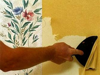 Fixing the Wall after Wallpaper Removal How To Build A House