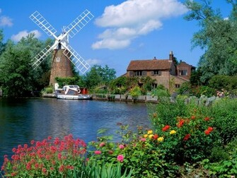 Hunsett Mill England Wallpapers HD Wallpapers