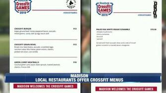 Local restaurants offer special menus for CrossFit Games
