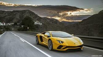 2017 Lamborghini Aventador S   Front Three Quarter HD Wallpaper 21