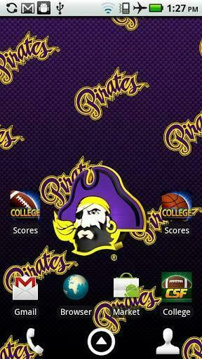 View bigger   ECU Pirates Live Wallpaper HD for Android screenshot