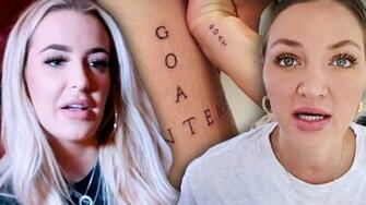 Tana Mongeau Freaks Out Over Erika Costell Tattoo On Jake Pauls