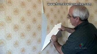 How to Fix Drywall   Removing Wall Paper   Drywall Repair