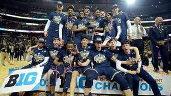 Season in Review 2016 17 Michigan Mens Basketball   University