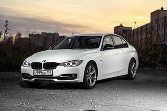 Images BMW 3 Series F30 Sedan White auto 4096x2731