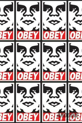 Beautiful Obey Iphone Wallpapers Desktopaper HD Desktop Wallpapers