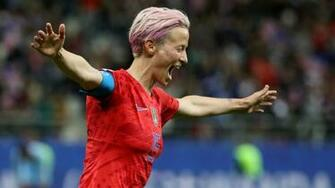 Womens World Cup 2019 USWNT star Megan Rapinoe responds to