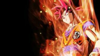 Super Saiyan God Goku Wallpaper by RayzorBlade189