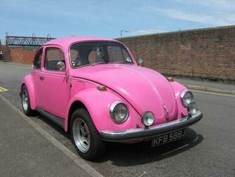Pink Volkswagen Beetle HD Wallpaper Cars Wallpapers