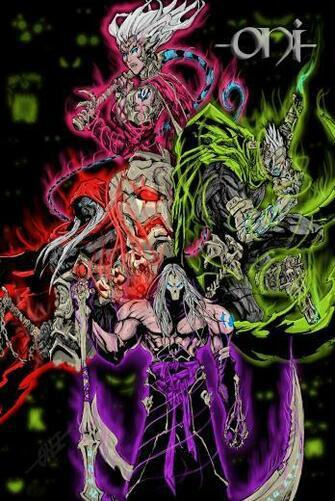 DarkSiders Four Horsemen by Lazzerus