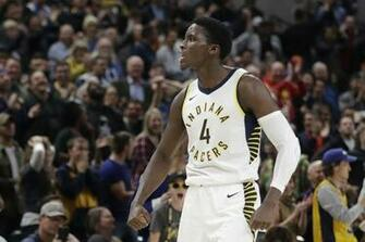 Victor Oladipo hits triple to cap Pacers rally against